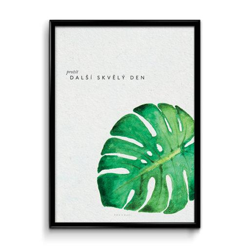 Číča v kleci | Plakát | Prožít další skvělý den