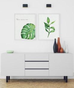 Číča v kleci | Plakát Rostlinka | Prožít další skvělý den