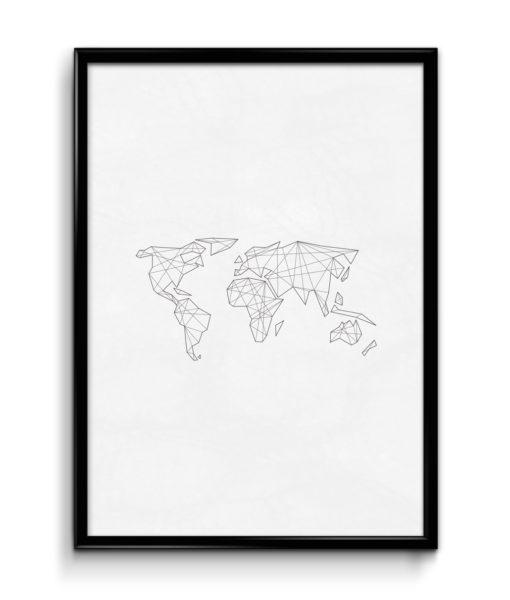 cica_v_kleci_original_plakat_geometricka_abstraktni_mapa_white1