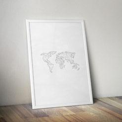 cica_v_kleci_original_plakat_geometricka_abstraktni_mapa_white2