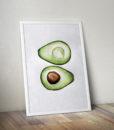 cica_v_kleci_avocado_original_painting_plakat_mockup_1