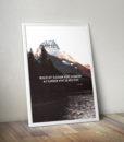 Číča v kleci | plakát | Člověk, který za něco stojí