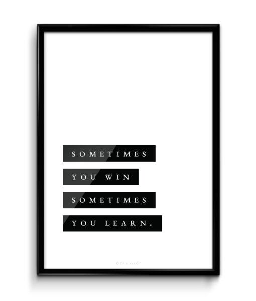 plakat_obraz_cica_v_kleci_original_sometimes_you_win_mockup_1