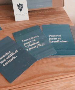 Číča v kleci | Milníkové kartičky jiné vtipné